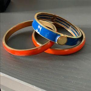 Orange and Blue Bracelet Bundle